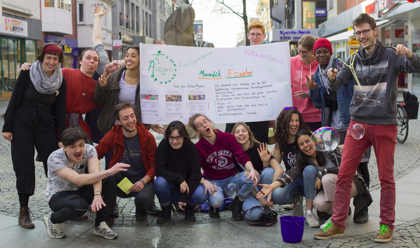 Vortreffen in Bremen: meine Mitfreiwilligen